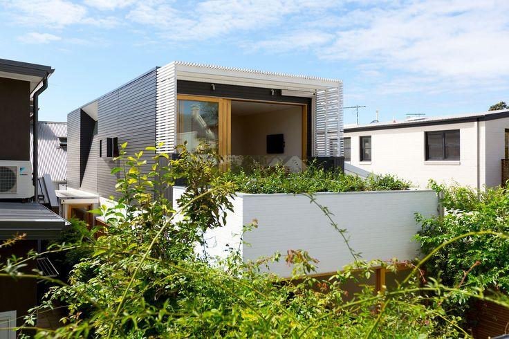 Narrow Terrace Design
