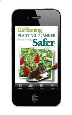 The Planting Planner App provides recommended seed sowing, planting and harvesting dates for hundreds of vegetables, herbs and flowers. From Organic Gardening magazine and Safer Brand