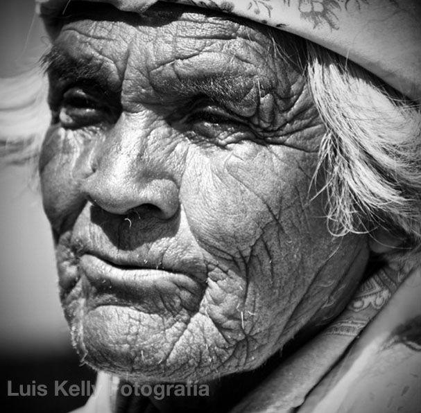 Hombre Tarahumara de Raramuchi.