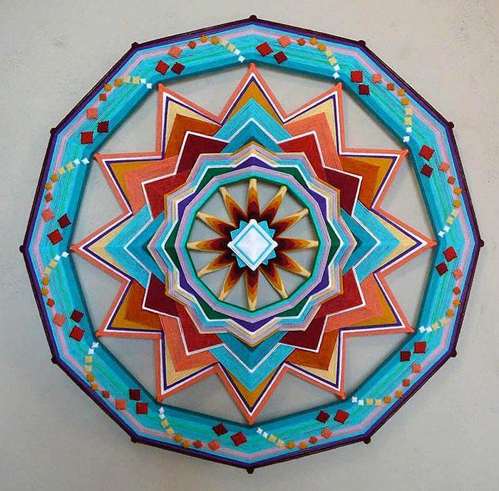 Ojos de Dios // Crafted Mandalas - Jay Mohler