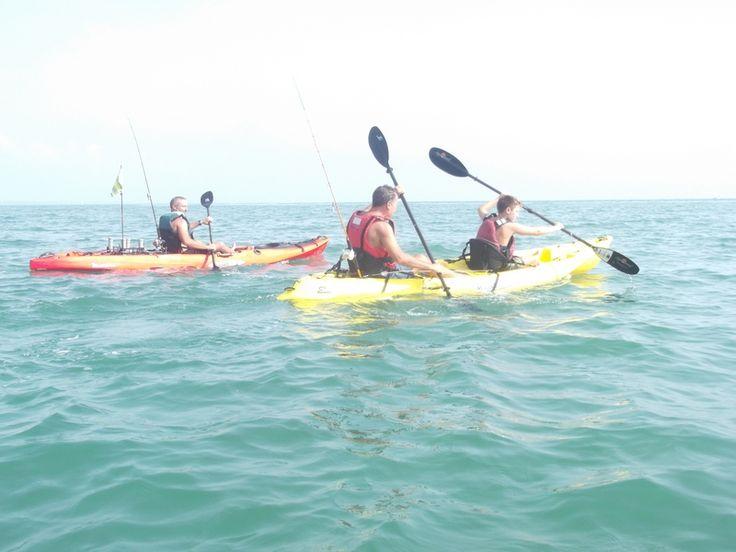 All'Eastbay Village di Anzio si è svolta una presentazione dei kayak malibu diretta dall'amico Stefano Norcia del sito www.wkfc.it