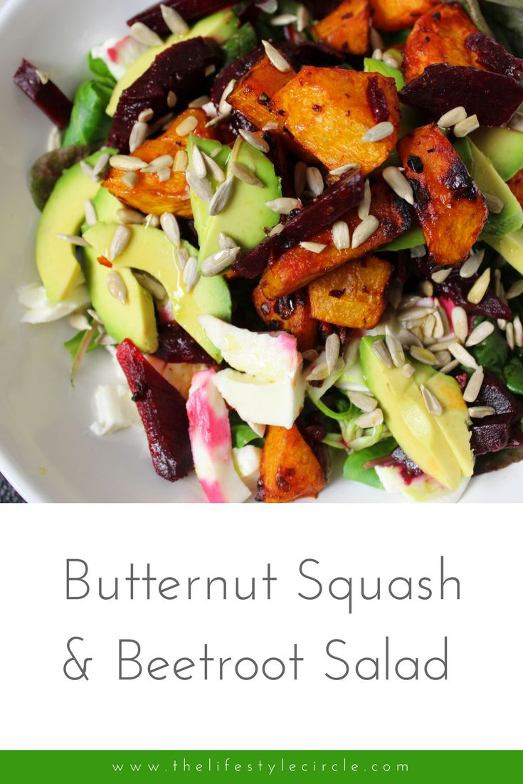 Butternut squash is the perfect salad ingredient. It's super tasty and super healthy whilst providing bulk and absorbing flavours really well.