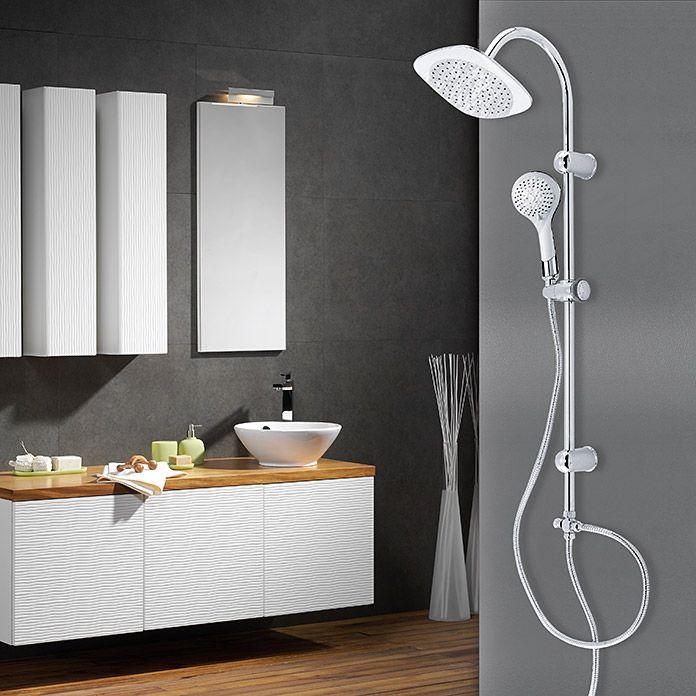 Grohe Vitalio Start Duschsystem Lochabstand 45 1 Cm Anzahl Funktionen 2 Glanzend Duschsysteme Dusche Glanzend