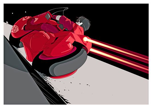 Akira Movie Poster, available at 45x32cm. This poster is printed on matt coated 350 gram paper.