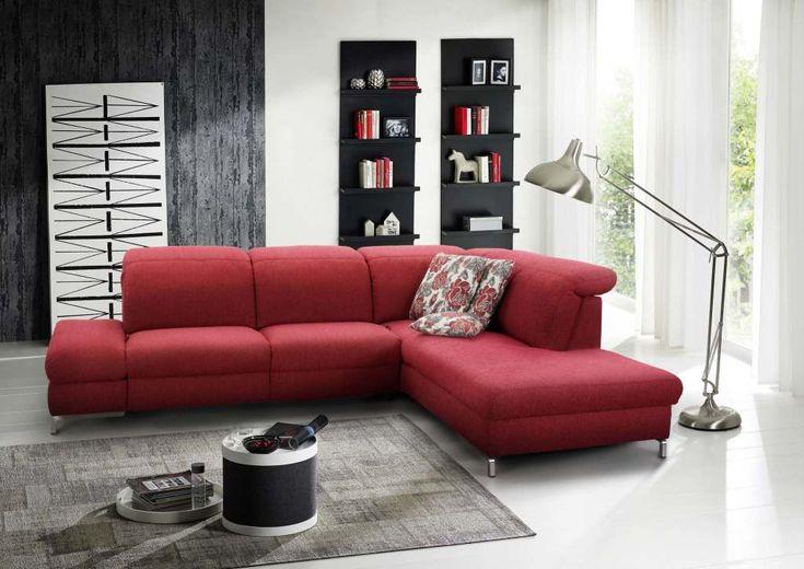 himolla polstermbel sofa polster wohnzimmer rot mbel mit www - Drehsthle Fr Wohnzimmer Zeitgenssisch