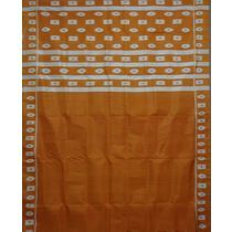 OSS255: Bomkei - Body Design Sambalpuri IKAT Saree, green