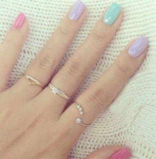 Uñas pintadas bonitas y de colores: fotos de nail art fácil para que luzcan tus manos