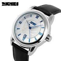 Wish | Original Brand Business Men's Waterproof Watch Analog Calendar Quartz Watch