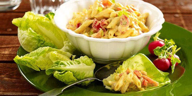 Hedelmäinen broileri-pastasalaatti - Saarioinen