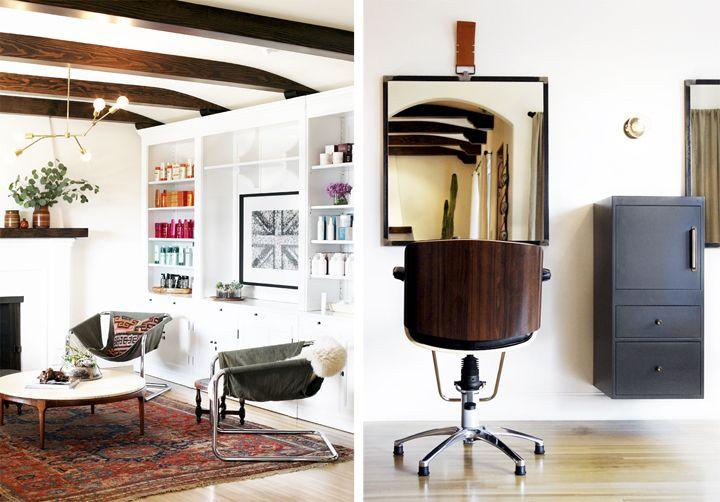 the brick house DIY Adelman fixture: Hair Salon Inspiration, House Diy, Office Inspiration, Living Room, Interior Hair Salon, Hair Salon Interiors, Morrison Hair, Brick Houses