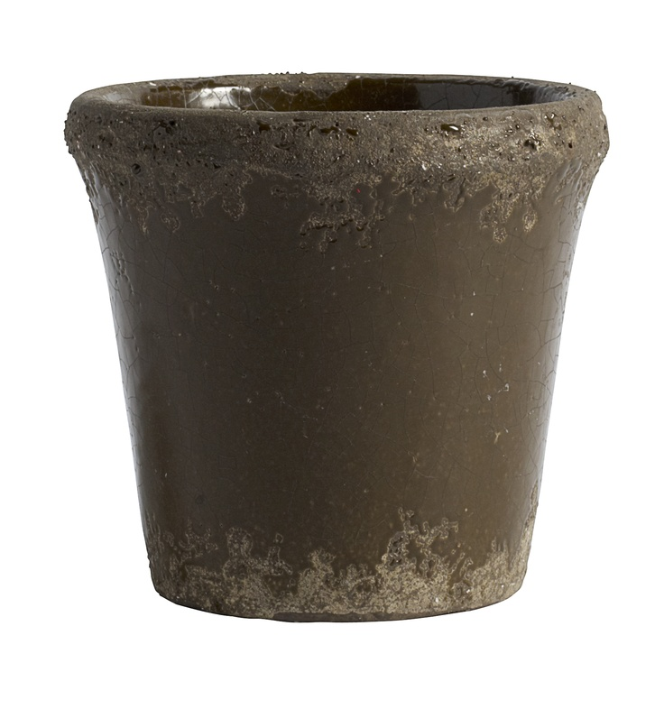 Flower Pot - Brown