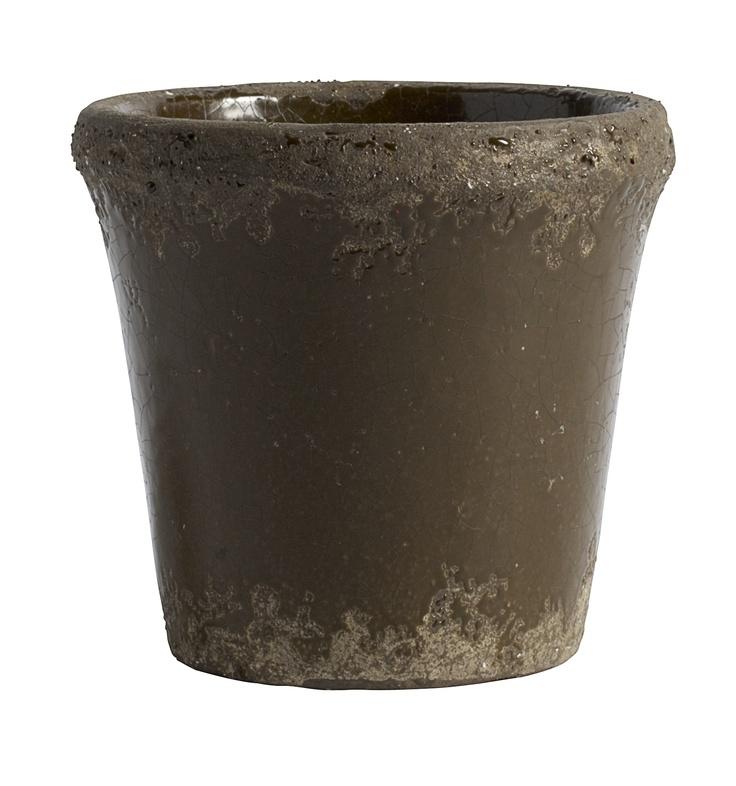 Flower Pot - Brown