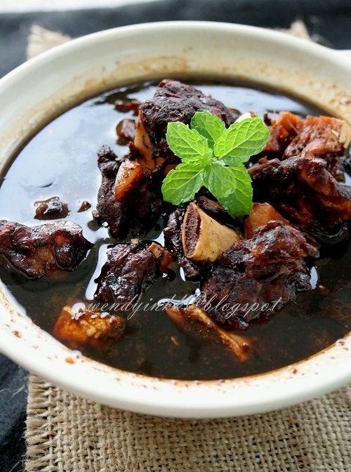 Table for 2.... or more: Black Vinegar Ribs 排骨醋- Pork Ribs #1