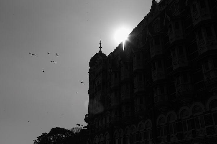 Mumbai, at sunset...