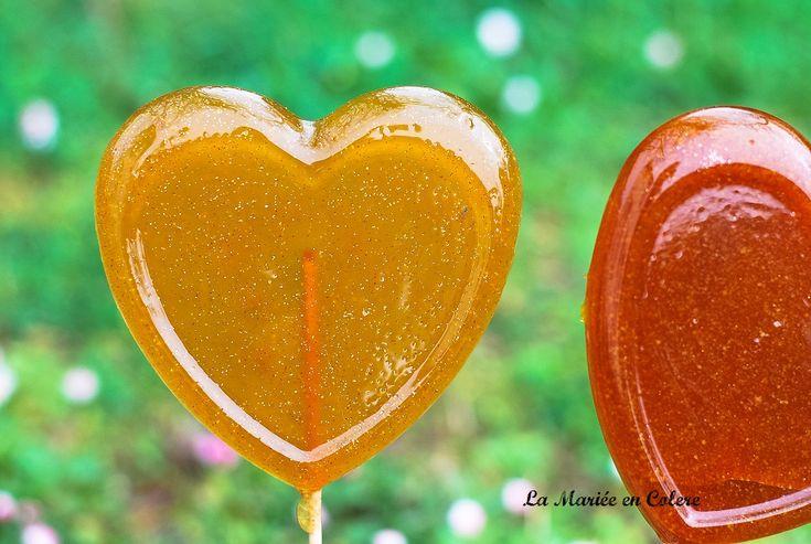 DIY candy bar : les sucettes à paillettes