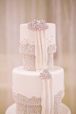 48 best DANTELA images on Pinterest Cake wedding Lace cakes and