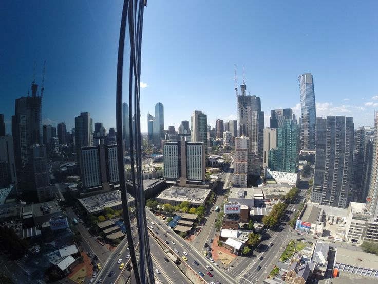 My view of Melbourne