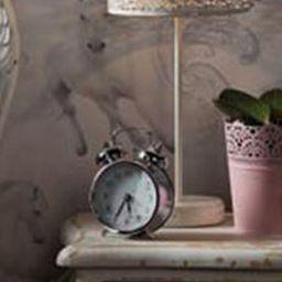 Tesco direct: Camarillo Horse Wallpaper- Grey - Arthouse 667300