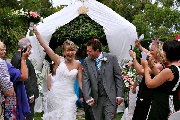 Wedding in May,11 - at Hotel Tamisa Golf, Mijas Costa, Spain.