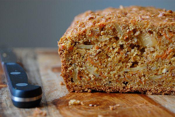Venha aprender como fazer uma receita super deliciosa de pão de cenoura e maçã. Uma delícia de lanche!