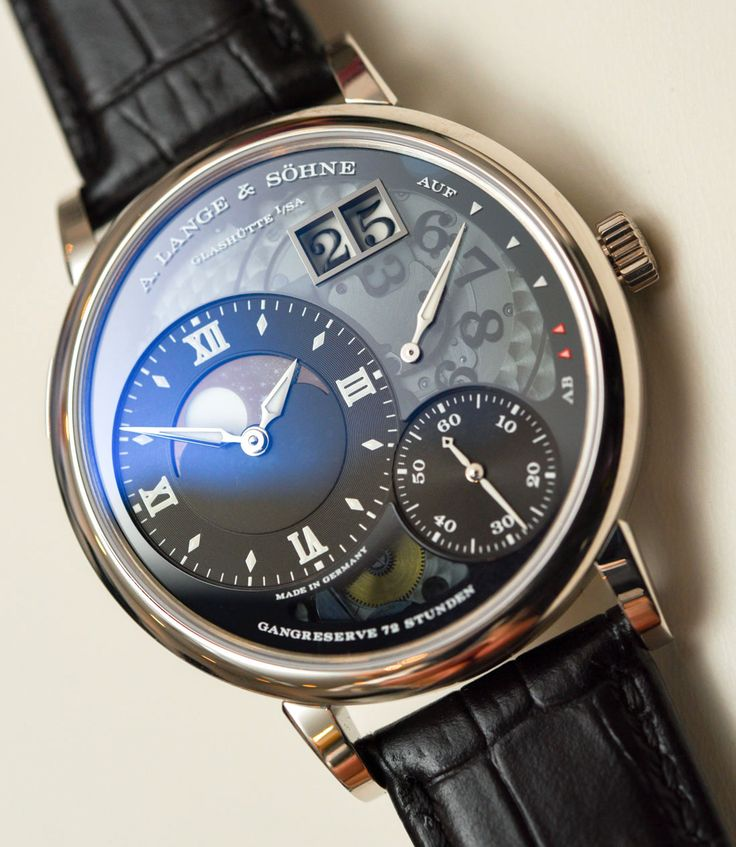 A. Lange & Söhne Grand Lange 1 Moon Phase 'Lumen' Watch Hands-On Hands-On