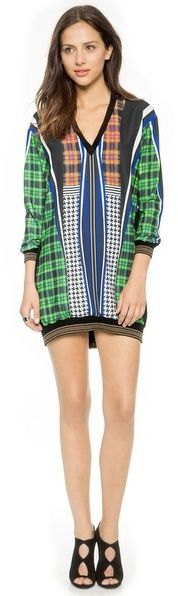 Clover Canyon Dublin Multicolored Shirtdress #UNIQUE_WOMENS_FASHION