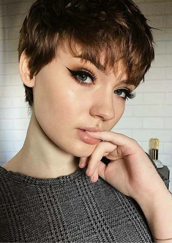 short pixie haircuts with bangs 2907 best pixie hair cuts images on hairstyle 2444 | b81cb58769cde83e0813b7266da2e331