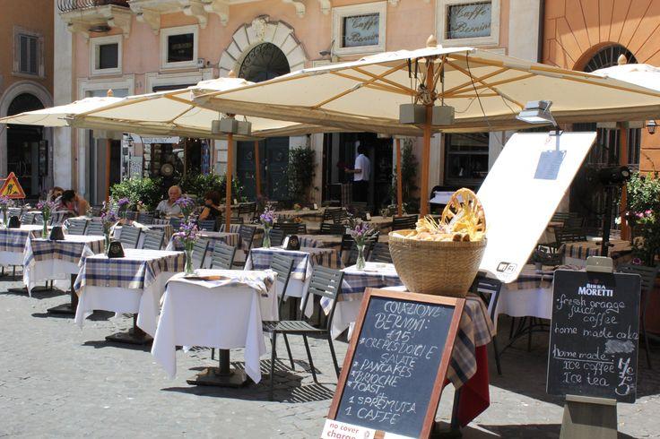 Rome, Italy...patio restaurants! Been!