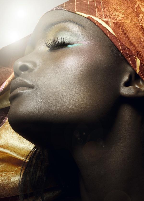 Nadia Beauty by neil burton, via Behance
