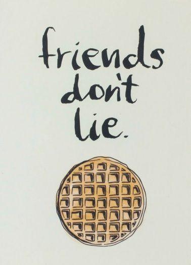 Amigo no mientas!!