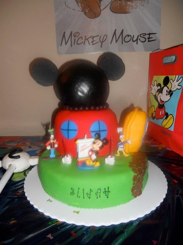 Mickey Mouse Clubhouse Birthday Cake Pinterest