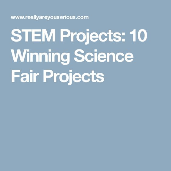 chemical science fair projects In this chemistry science fair project, you'll capture a gas in a stretchy container you're probably pretty familiar with—a balloon this will allow you to observe the gas expansion and contraction as the temperature changes.