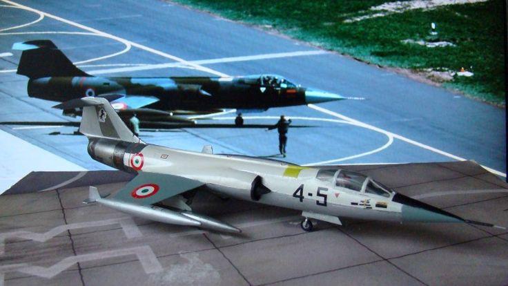 Lockeed F-104G Starfighter, serial MM6505/ 4 - 5, 4 Stormo - 9 Gruppo, Grosseto AB Italian Air force 1963.