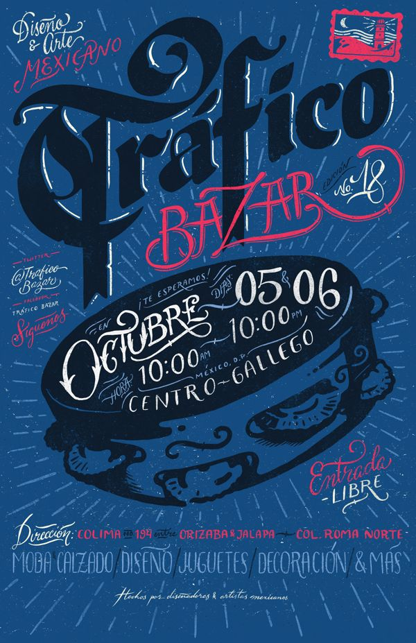 Trafico Bazar No. 18 on Behance
