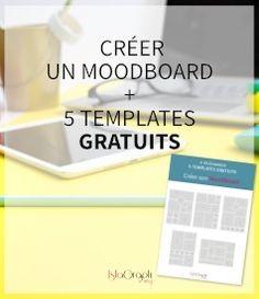 Créer un MoodBoard (ou planche d'inspiration) va t'aider dans la conception de ton identité visuelle. Je t'explique en 3 étapes comment procéder.