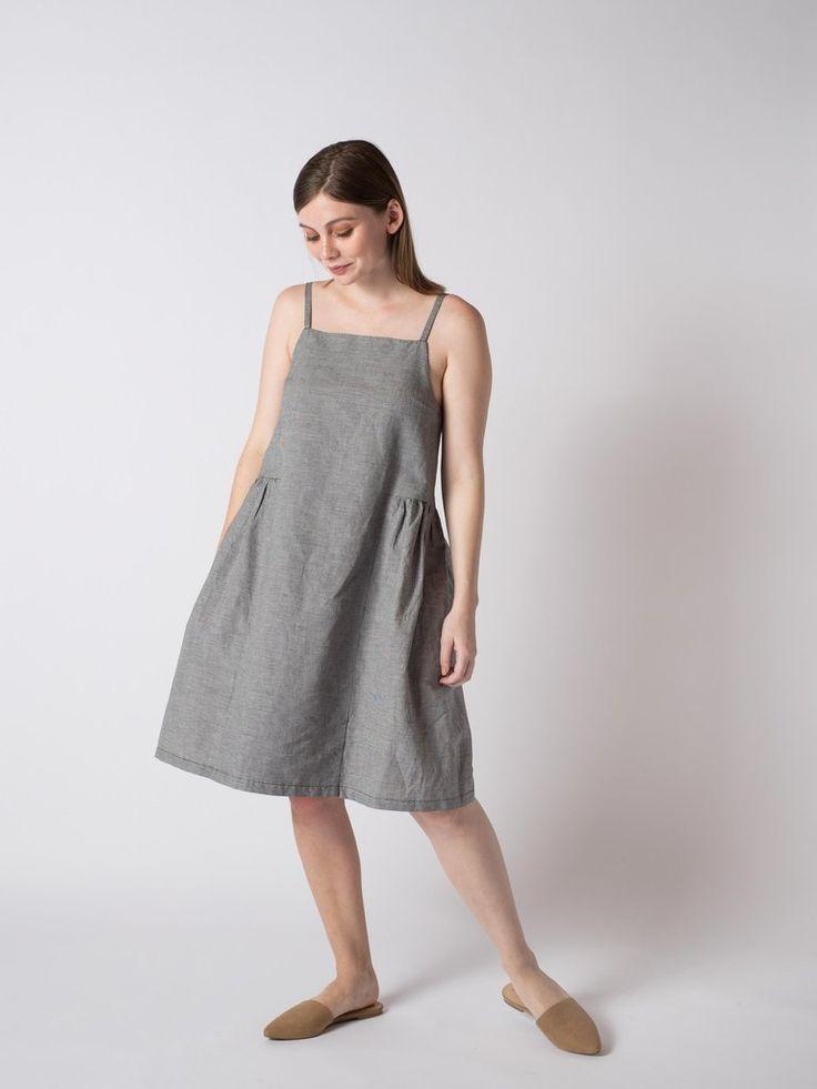 DISSOLVE DRESS #sibedthreads #sibedclothing #linen #madeinNewZealand #womansclothing
