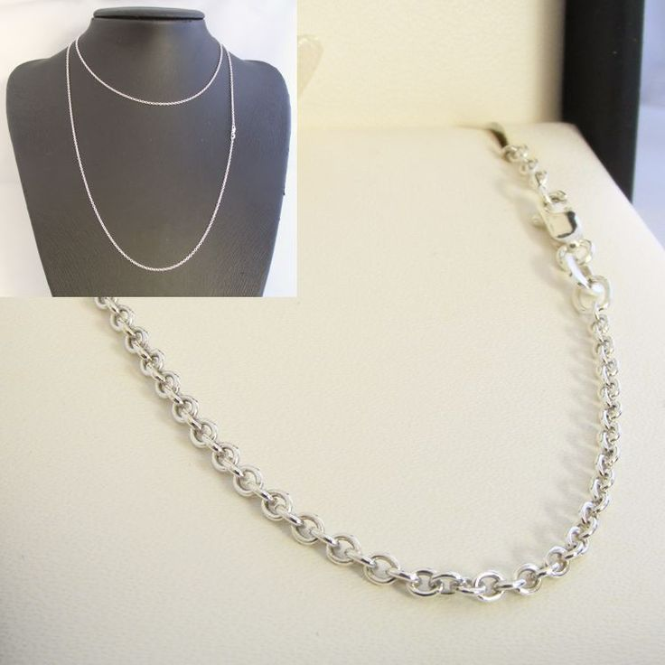 Sterling Silver Cable Chain - MM-CAB-0002
