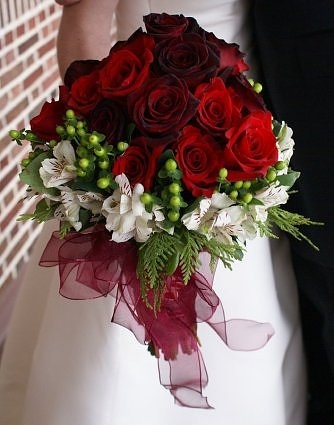 Red rose bouqet