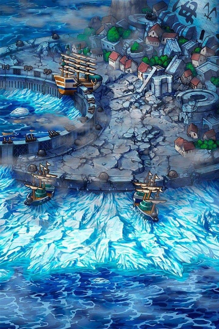 After War Shirohige Destroying Marineford One Piece Wallpapers Anime Animes Wallpapers
