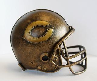 NFL Chicago Bears Helmet Statue NFL Chicago Bears