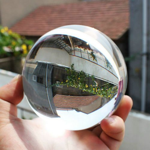 80mm-Clear-Round-Glass-Artificial-Crystal-Healing-Ball-Sphere-Decoration-LA