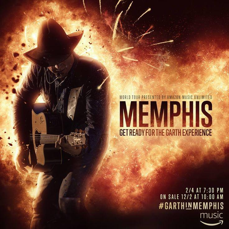 Garth Brooks Memphis Show on 2017 with Trisha Yearwood #GarthBrooks #TrishaYearwood #FedExForum #GarthInMemphis