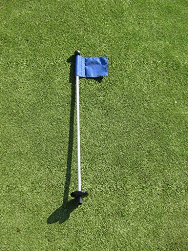 Golf  Putting Green  1 30 Practice Green Pin Marker w Easy Grab Knob and Ball Lifter Disk  1 Solid BLUE Colored Jr Flag Included ** Check out this great product. Note:It is Affiliate Link to Amazon.
