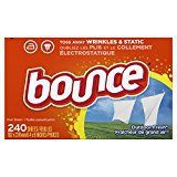 #9: Bounce Outdoor Fresh Fabric Softener and Dryer Sheets 240 Count
