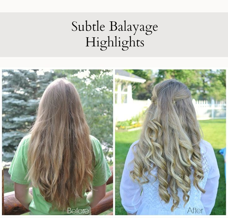 Diy Balayage Highlights Using 7th Stage From Sally Beauty