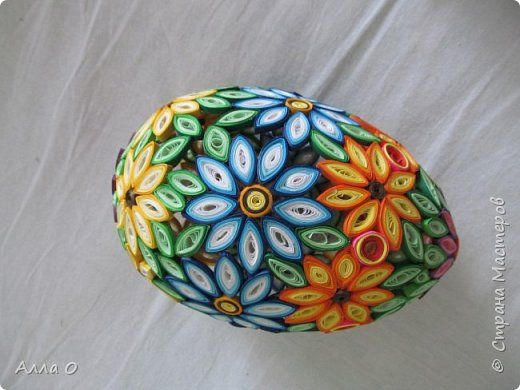 *QUILLING ~ Easter crafts product krutanki Paper Quilling ...
