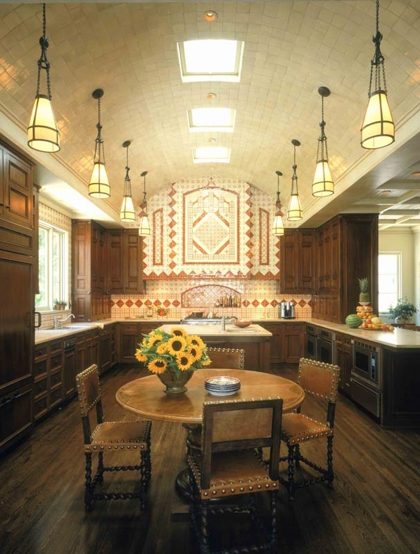 Spanish revival kitchen in california tuscan decor for California style kitchen
