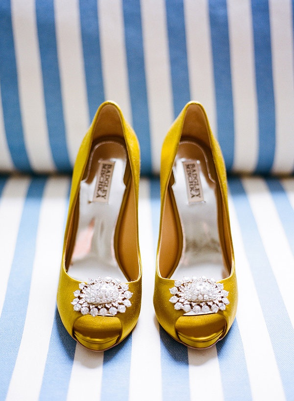 1000  ideas about Yellow Wedding Shoes on Pinterest  Wedding