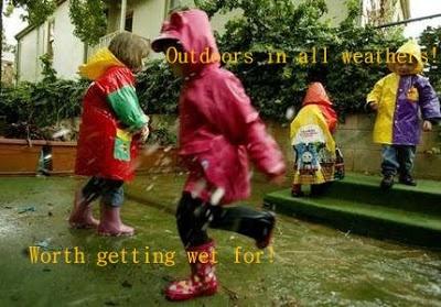 A rain activity emergent curriculum