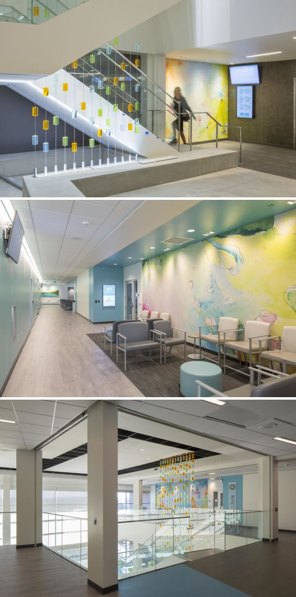Healthcare Art Wall Design By Studio Art Direct At Kaiser